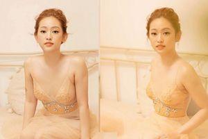 Hotgirl Thúy Vi khiến cộng đồng mạng bất ngờ khi chia sẻ 'tháo túi ngực' để trông… 'nghệ thuật' hơn