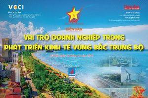 Diễn đàn 'Vai trò doanh nghiệp trong phát triển kinh tế vùng Bắc Trung bộ'