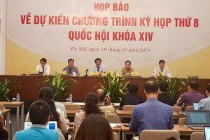 Kỳ họp thứ 8, Quốc hội khóa XIV: Xem xét quyết định nhiều vấn đề quan trọng