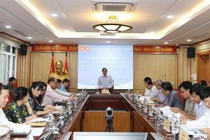 Lãnh đạo Ban Tổ chức Trung ương làm việc với Đảng ủy Khối Các cơ quan Trung ương và Đảng ủy Khối Doanh nghiệp Trung ương