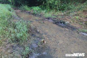 Công an Hòa Bình triệu tập người liên quan vụ đổ trộm dầu bẩn gây ô nhiễm nước sông Đà