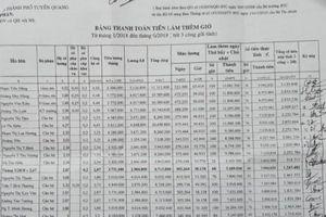 Bị tố cưỡng đoạt tiền, Giám đốc BHXH tỉnh Tuyên Quang nói gì?
