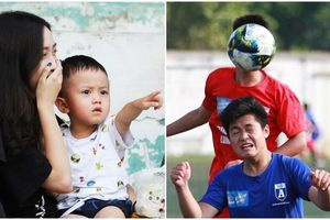 Những khoảnh khắc độc đáo và đáng yêu ở giải bóng đá học sinh Hà Nội