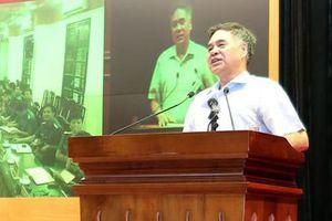 Tiếp tục tuyên truyền sâu rộng Hội nghị Trung ương 11 trong lực lượng CAND