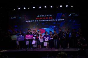MakeX Robotics Competition 2019