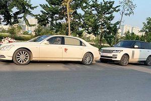 Xem dàn xe ôtô rước dâu hơn 100 tỷ tại Quảng Ninh