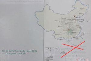 Sử dụng ấn phẩm có 'đường lưỡi bò', Saigontourist bị phạt 50 triệu đồng