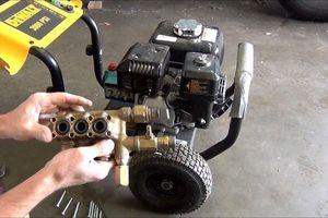 Cách sửa máy rửa xe cực kỳ hiệu quả