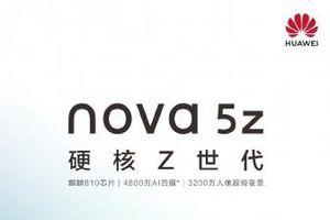 Huawei Nova 5z lộ ảnh thật cùng thông số kỹ thuật