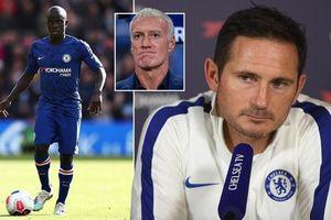 Kante không thể ra sân đấu Newcastle, Lampard chỉ trích Didier Deschamp