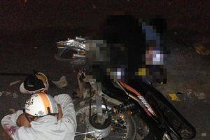 Phóng xe tốc độ cao, hai nam thanh niên tông vào đuôi xe container thương vong