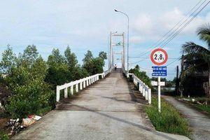 Chi cục Đường thủy nội địa phía Nam yêu cầu đơn vị sửa chữa cầu Đất Mới đảm bảo ATGT đường thủy