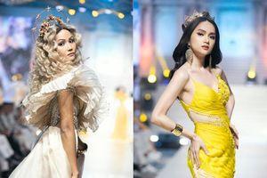 Lần đầu tiên 'song kiếm hợp bích' trên sàn diễn, Hương Giang - H'Hen Niê khiến fan phấn khích cao độ