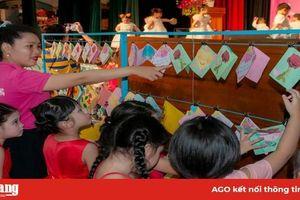 Trường Mầm non Sen Hồng tổ chức Hội thi bé khéo tay