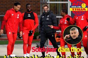 Solsa đâm thọc Liverpool trước đại chiến; Vinh danh Ronaldo