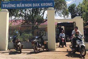 Phụ huynh bức xúc trước khoản thu xã hội hóa của trường Mầm non Đắk Krong
