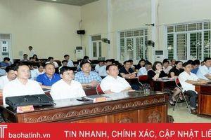 Hà Tĩnh bế giảng lớp bồi dưỡng kiến thức cho cán bộ diện Ban Thường vụ Tỉnh ủy quản lý