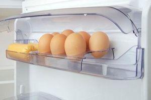 Bảo quản trứng trong tủ lạnh: Nên để đầu to hay nhỏ lên trên?