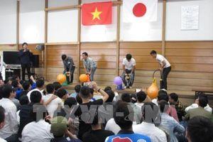 Nhật Bản tổ chức lễ hội cho các thực tập sinh và kỹ sư Việt Nam