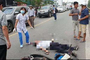 Người đàn ông đi xe máy tông vào trụ bê tông cầu Thái Hà, tử vong tại chỗ