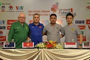 ĐT Futsal Việt Nam đặt mục tiêu toàn thắng vòng bảng