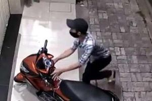 Kẻ trộm mất xe ăn trộm sau 1 tuần