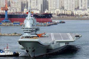 Tàu sân bay Trung Quốc tự đóng Type 001A một tháng nữa sẽ nhập biên?