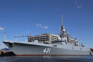 Nga thử nghiệm cấp nhà nước 'siêu tàu' mang 16 tên lửa hành trình Kalibr