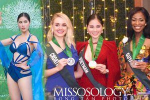 Hoàng Hạnh đoạt huy chương vàng Miss Earth 2019 nhờ bikini nóng bỏng