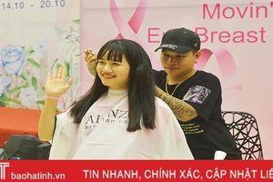 Ngày hội nón hồng - Lan tỏa nghị lực cho bệnh nhân ung thư