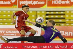Đánh bại Australia, ĐT futsal Việt Nam làm nên lịch sử