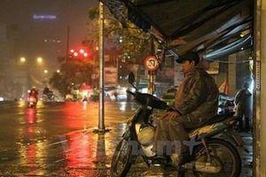 Khu vực Bắc Bộ đêm có mưa vài nơi, Tây Nam Bộ đề phòng lốc, sét