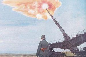 Khám phá siêu pháo cực 'dị' của Đức nặng tới 256 tấn, tầm bắn 130km