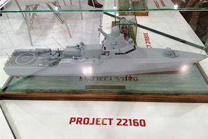 Nga giới thiệu cho Việt Nam chiến hạm 22160 tối tân nhất