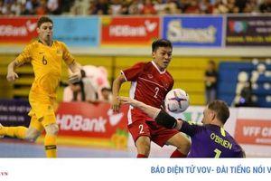 ĐT Việt Nam thắng trận ra quân giải Futsal HDBank vô địch Đông Nam Á 2019