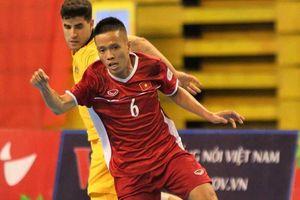 Futsal Việt Nam lần đầu thắng Úc