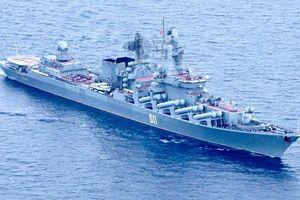Chiến hạm Nga, Thái Lan diễn tập chung ở Biển Đông