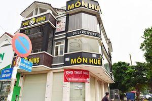 Loạt chi nhánh Món Huế đóng cửa im lìm ở trung tâm TP.HCM