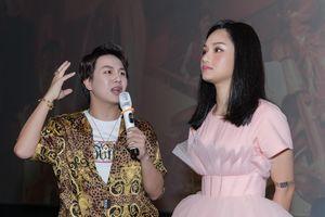 Miu Lê nói vui: 'Từ giờ sẽ không mời Duy Khánh đến họp báo'