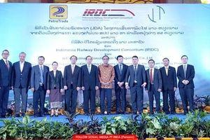 Indonesia định đổ 2 tỷ USD xây đường sắt Lào-Việt