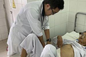 Không cần phẫu thuật, trong 30 phút cứu sống bệnh nhân xuất huyết nội