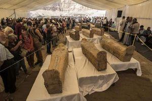 Bí mật cực sốc trong 30 quan tài chứa xác ướp Ai Cập