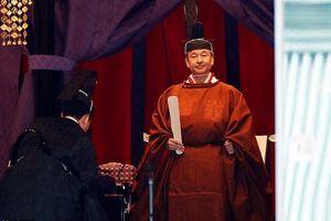 Chùm ảnh: Lễ đăng quang của Nhật hoàng Naruhito trước 2.000 quan khách