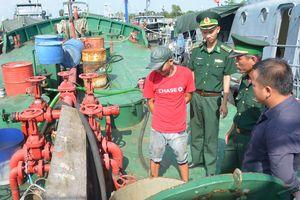 Bắt vụ vận chuyển 17.000 lít dầu DO
