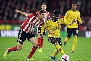 Thể hiện màn trình diễn nghèo nàn, Arsenal thất thủ trước Sheffield United