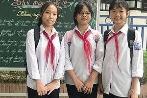 Tặng danh hiệu 'Người tốt-việc tốt' cho 3 học sinh nhặt được 50 triệu trả lại người mất