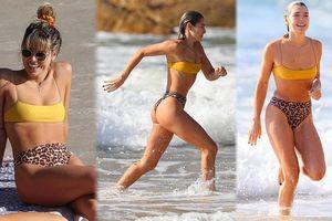 Ashley Hart phô thể hình đẹp như tạc tượng giữa biển trời nước Úc