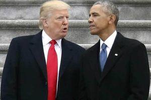 Ông Trump tuyên bố sốc, thẳng thừng 'dìm hàng' Obama