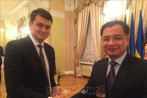Thúc đẩy hợp tác giữa Quốc hội Việt Nam và Quốc hội Ukraine