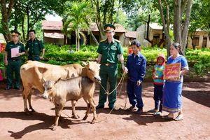 Binh đoàn 15 hỗ trợ nhân dân bị ảnh hưởng mưa lũ